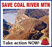 Blasting has begun on Coal River Mountain - Take Action Now!