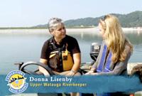 Donna Lisenby and Alexandra Cousteau