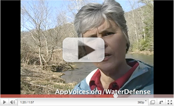 Watch our video about our work to hold the coal companies accountable for their pollution at appvoices.org/waterdefense/