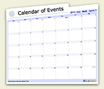 Environmental Calendar of Events