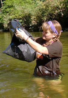 Autumn Watauga River Cleanup