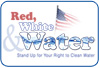 Red, White and Water