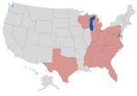 The Toxic 20 States