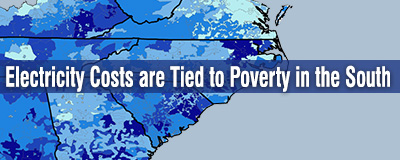 Electricity costs tied to poverty in the South