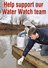 Support our water watch team