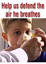 Help us defend the air we all breathe