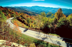 Visit the beautiful mountains of Tennessee