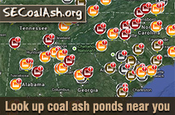Find a coal plant near you at Southeast Coal Ash dot org