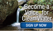 Sign up to become a Voice for clean water