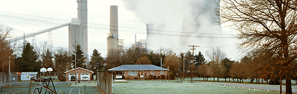 Gavin coal power plant - photo by Mitch Epstein