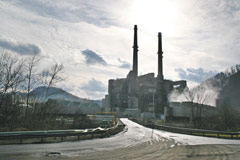 Built in 1957, American Electric Power's Clinch River Plant in Carbo, Virginia is responsible for an estimated 42 premature deaths per year.