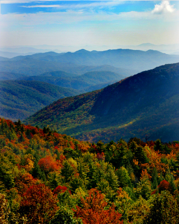 The Scenic Appalachian Mountains