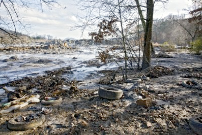 """Coal Fly Ash Sludge Disaster"" by Jerry D. Greer, winner of the 2010 AMPC Ecological Footprint category"