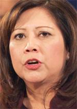 Labor Secretary Hilda Solis