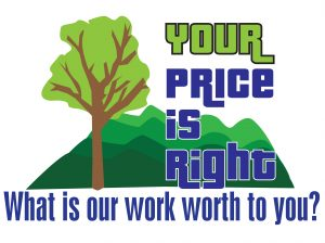 What is our work worth to you?