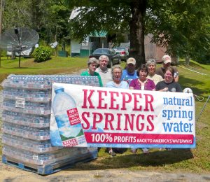 Delivering Keeper Springs water to Kentucky families