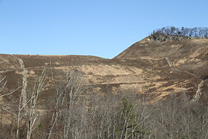 Reclamation is complete at the former surface mine near Hueysville, Ky.