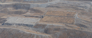 Three forestry research plots demonstrate some of Patriot Coal Company's reclamation efforts on Kayford Mountain, W. Va.
