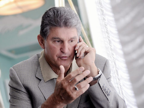Sen. Manchin Getting Calls