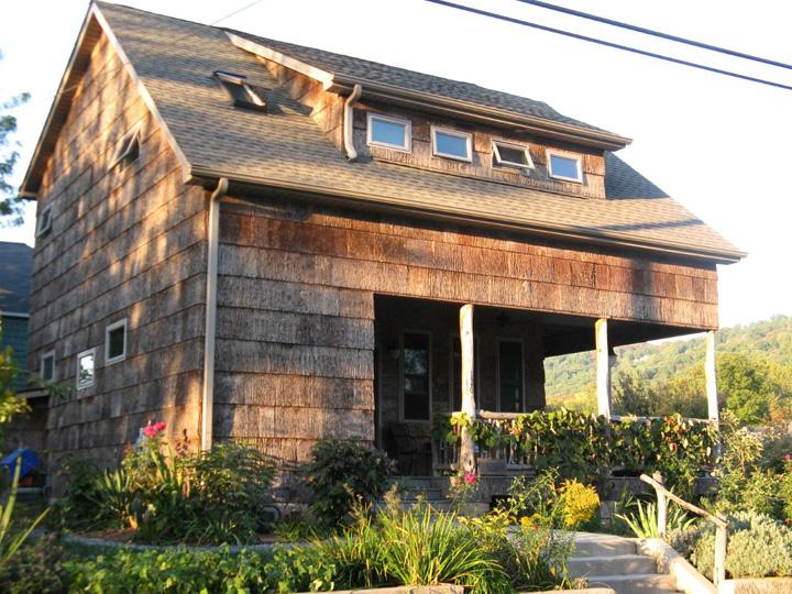 April 2012 appalachian voices for Bark house siding