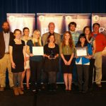 Grow Clean Water team with the EPA P3 Award