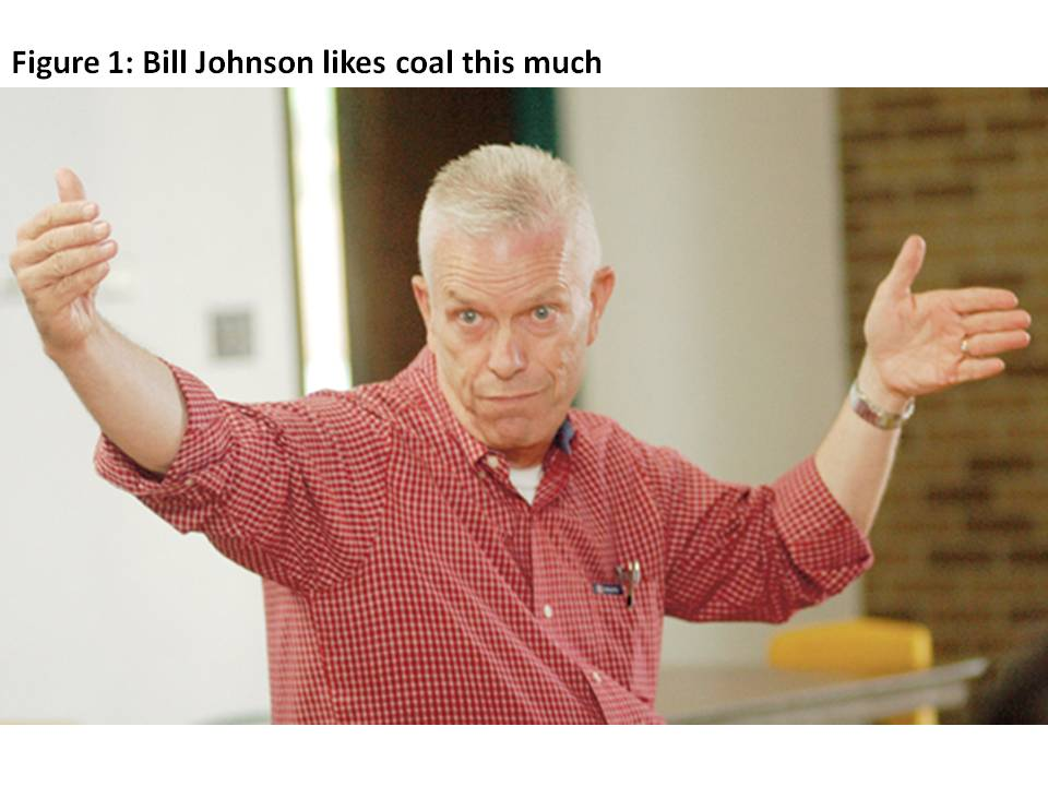 Bill Johnson Likes Coal