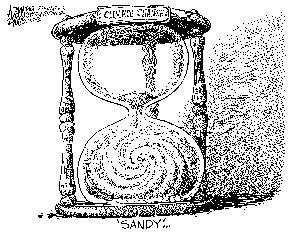 """Sandy"" cartoon"