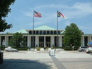 NC Legislative Building.