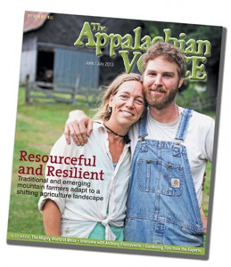 Farmers Holly Whitesides and Andy Bryant grace the cover of the June/July 2013 issue.