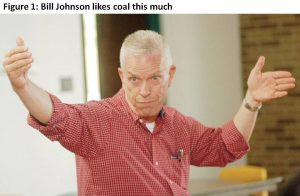 Rep. Bill Johnson really likes coal, and he's willing to put the health of Appalachia's streams and communities at risk to prove it.