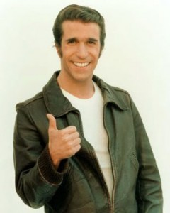 A quick read of the USDA's finding that energy efficiency has no significant impact (FONSI) might have you thinking the Fonz' approves of energy efficiency programs. We'd like to think he does.