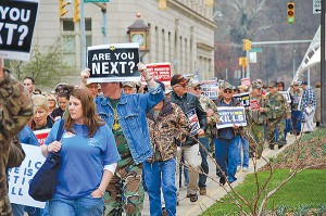 Time is quickly running out for Congress to pass the Miners Protection Act. Photo by Ann Smith, special to the UMW Journal