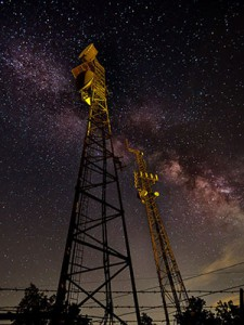 """""""Towers"""" by Rob Travis won the 2013 Our Ecological Footprint Award"""
