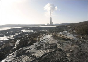 This week, a federal court gave the U.S. Environmental Protection Agency 60 days to propose a deadline for rules regulating toxic coal ash. Photo from southeastcoalash.org