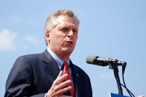 "Virginia Governor Terry McAuliffe stated that Virginia will ""stay the course"" and continue working to reduce carbon pollution after the U.S. Supreme Court hit pause on the Clean Power Plan. Photo from Wikimedia Commons."