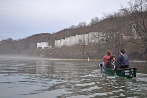 Appalachian Voices Water Watch Team conducted water quality testing on the Elk River following the chemical spill from a Freedom Industry facility last Thursday. For more pictures, visit our FlickR page