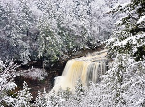 Blackwater Falls, photo by AKA Flash Photography
