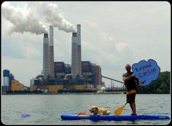 North Carolina resident calls for strong carbon pollution rule. Photo by Avery Locklear