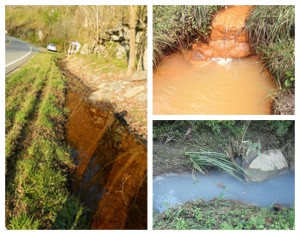 Water polluted by mining in eastern Kentucky. Photos by Appalachian Citizens Enforcement Project via Flickr.