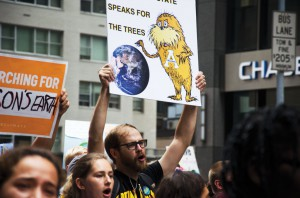 Approximately 100 Appalachian State University  students traveled to New York for the People's Climate March.
