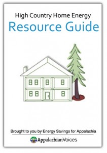 Download our High Country Home Energy resource guide