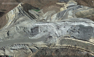 Mountaintop Removal Coal Mining From 2009 And 2013