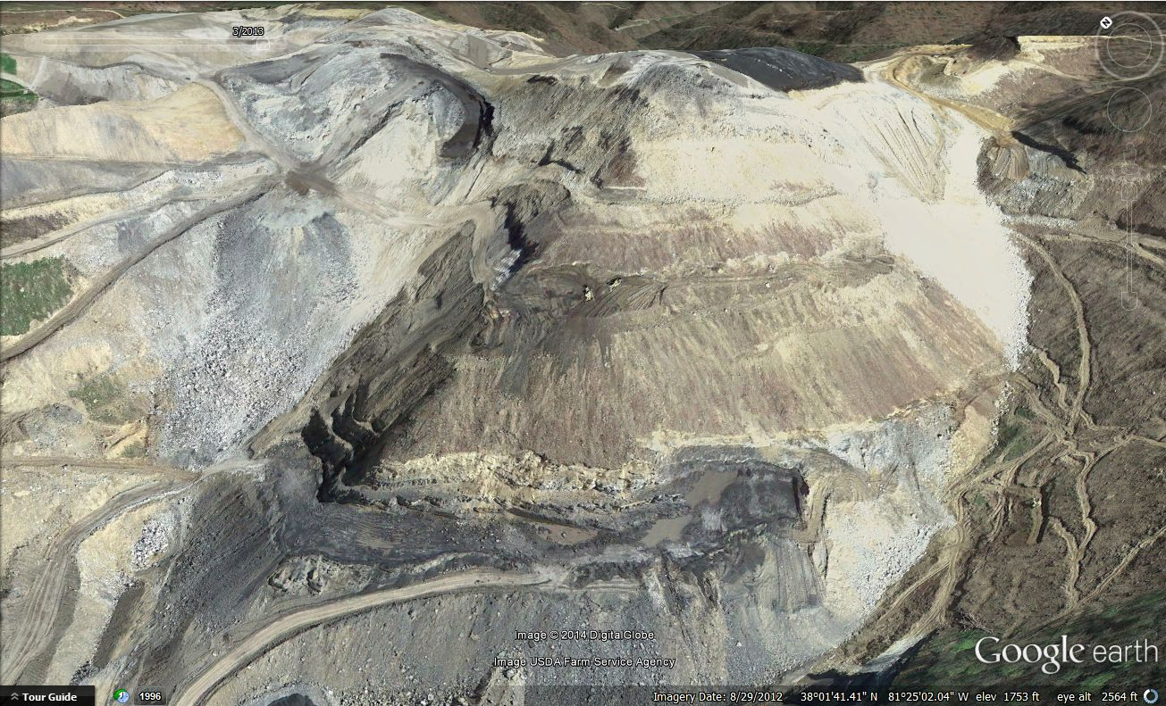 strip mining before and after