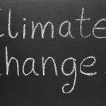 climate change on blackboard