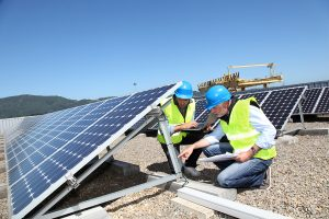 According to a report by Environment North Carolina, the state ranks fourth nationally for installed photovoltaic solar power in 2013.