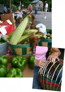 Farmer's markets provide economic diversity to small communities throughout Appalachia.