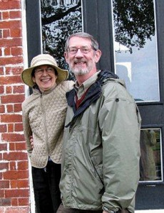 Bob Belton and his wife, Celia, at a house tour on Virginia's Northern Creek.