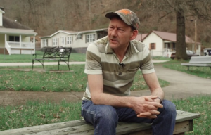 Inman, Va., resident Ben Hooper discusses the long-lasting impacts of mountaintop removal on his community. Click to open video.