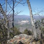 A view from the summit of Little Table Rock Mountain