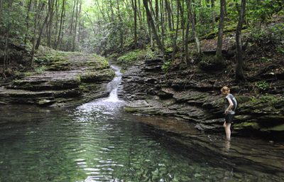 The highly popular Devil's Fork Trail and Devil's Bathtub in Southwest Virginia have been earmarked for federal